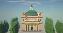 Neoclassical church - Hungary Minecraft Map & Project