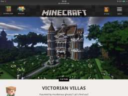 Victorian Mansion #2: Diamond Heart (Update) Minecraft Map & Project