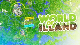 World of ILLAND. History of one map Minecraft Map & Project