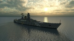 Fictional Imperial Battleship - Andrea Gritti - For NagiFX Minecraft Map & Project