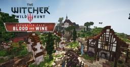Witcher 3: Blood and Wine | Corvo Bianco vineyard Minecraft