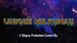 Unique Milkyway CUSTOM SKY Minecraft Texture Pack
