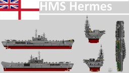 HMS HERMES (R12)  - 1982 Minecraft Map & Project