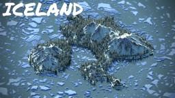 IceLand terrain Minecraft