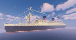 RMS Queen Elizabeth 1938 Minecraft
