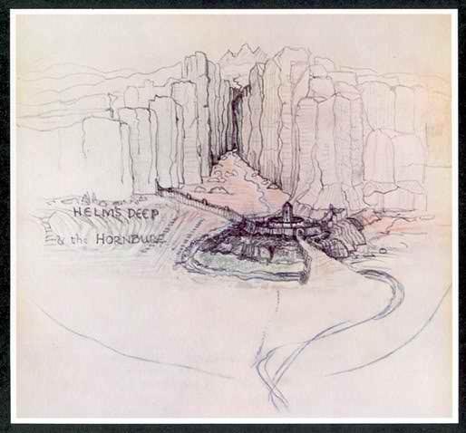 J.R.R. Tolkien's sketch
