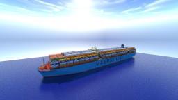 Maersk Emden [Full Interior]+[Download] Minecraft Map & Project