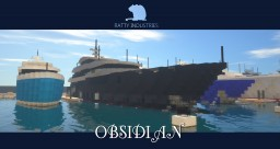 Superyacht 'Obsidian' (full interior) Minecraft Map & Project