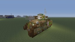 Valkyria Chronicles 4, Hafen medium tank Minecraft Map & Project