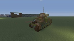 WWII Sherman VC Firefly, Guards Armored version Minecraft Map & Project