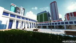 Modern Metro Station | Republic of Union Islands Minecraft Map & Project