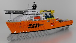 1 - 1 SBM INSTALLER - OFFSHORE SUPPORT SHIP Minecraft Map & Project