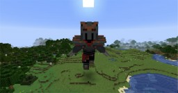 Zed Statue from League of Legends Minecraft Map & Project