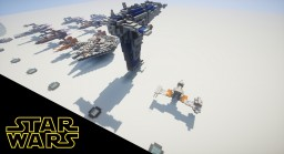 Star Wars Sequel Era Collection Minecraft Map & Project