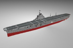 IJN Taiho 1:1 Scale Minecraft