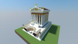 Roman Temple of Divus Julius Minecraft