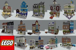 All LEGO Modular Buildings in Minecraft (updated 2019) Minecraft Map & Project