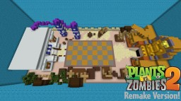 Plants vs Zombies 2: Remake Version! Minecraft Map & Project