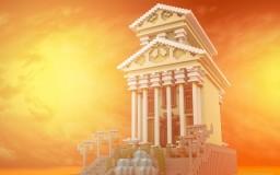 Sabuleum - a greek temple. Minecraft Map & Project