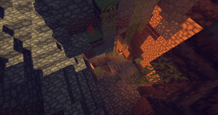 ...a natural spiral staircase.