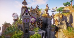 Steampunk Village Transformation Minecraft Map & Project