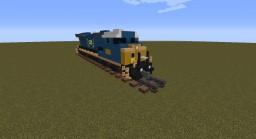 CSX Dash 9-44CW Minecraft Map & Project