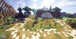 '' Goku's House ''▐ 孫悟飯の家 ▐ Dragon Ball Minecraft Map & Project
