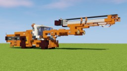 Underground Drill Rig Minecraft Map & Project