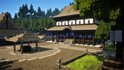 Original Japanese Temple Minecraft