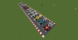 Minecraft Racing Vehicles Minecraft Map & Project