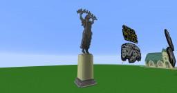 A budapesti Szabadság szobor / Freedom Statue of Budapest Minecraft Map & Project