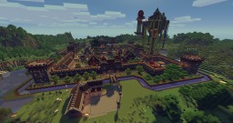 Mine-Venture - Medieval Fantasy Town [UPDATED TO MC 1.12.2] Minecraft Map & Project