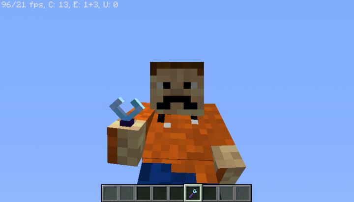3D model 3rd person