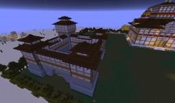 AoE II Far East Castle (Alpha) Minecraft