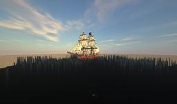 Brig Wolf (HMS Wolf) Minecraft Map & Project