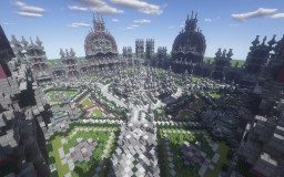 ---!Fantasy Themed Spawn/Hub!--- Minecraft Map & Project