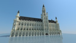 Brussels City Hall Minecraft
