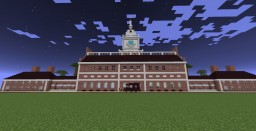 Independence Hall Minecraft Map & Project