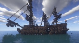 Cursed Ghost Ship Minecraft Map & Project