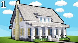 How to Build A Country House Minecraft Map & Project