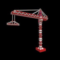 Construction Crane | HzHD p801 Minecraft Map & Project