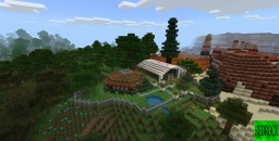 Minecraft Bedrock Edition 1.8 World 'Mesa 3' Minecraft Map & Project