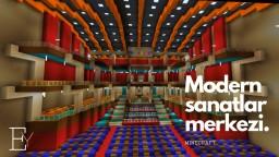 Opera Hause - Modern Sanatlar Merkezi (Minecraft) Minecraft Map & Project