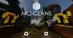 MC-CLANS Skyblock [1.8-1.13.2] Minions | Custom Enchants | Custom Mob Drops Minecraft Server