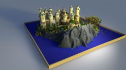 Palace on the Fantasy Island Minecraft