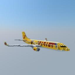 "Boeing 737-800 TUIfly ""Dürer & Klexi"" Livery Minecraft Map & Project"
