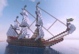 Swedish Warship Vasa [Updated] Minecraft Map & Project