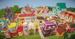 Colorful Town [Download] Minecraft Map & Project