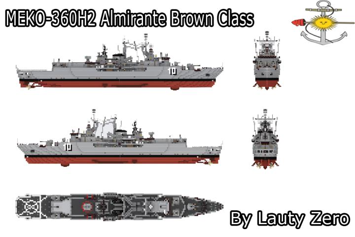 Popular Project : MEKO 360H2 - Almirante Brown class destroyer (REBUILDT)