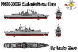 MEKO 360H2 - Almirante Brown class destroyer (REBUILDT) Minecraft Map & Project